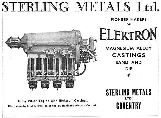 Sterling Metals Elektron Castings 1933
