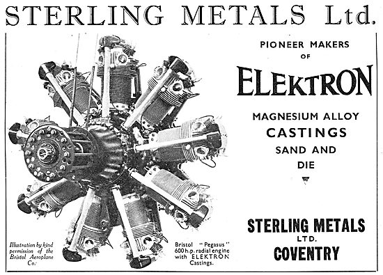 Sterling Metals Coventry - Elektron Castings