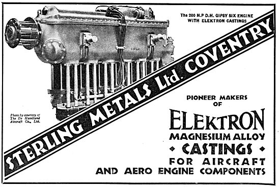 Sterling Metals Coventry - Elektron Magnesium Alloy Castings