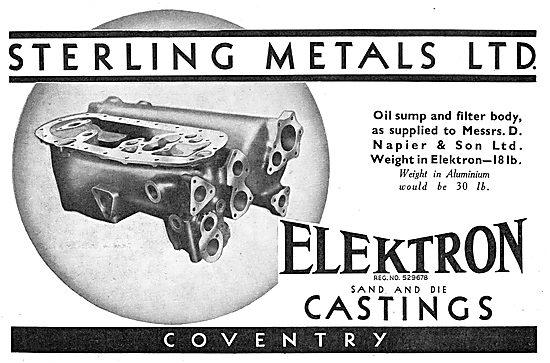 Sterling Metals Coventry - Elektron Sand & Die Castings