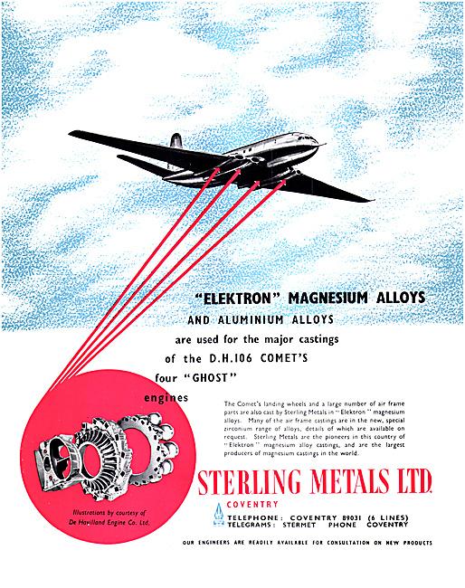 Sterling Metals Magnesium Elektron & Aluminium Alloy Castings