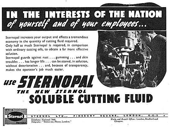 Sternol - Sternopal Machine Tool Cutting Fluid