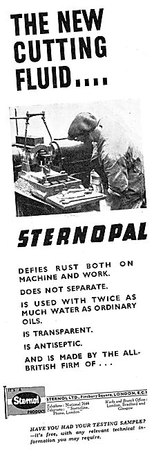 Sternol Machine Tool Cutting Oils - STERNOPAL