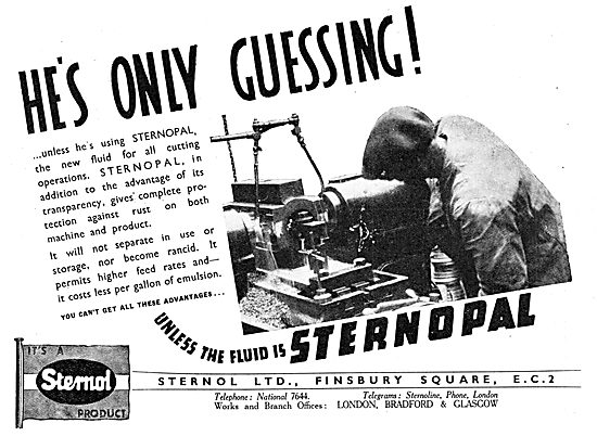 Sternol Machine Tool Cutting Fluids - STERNOPAL