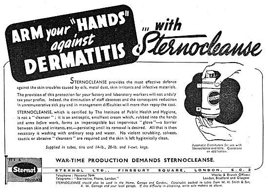 Sternol - Sternocleanse Barrier Cream - Prevent Dermatitis