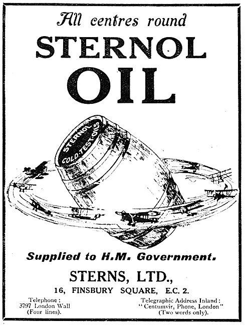 Sterns Ltd - Sternol Cold Test Oils