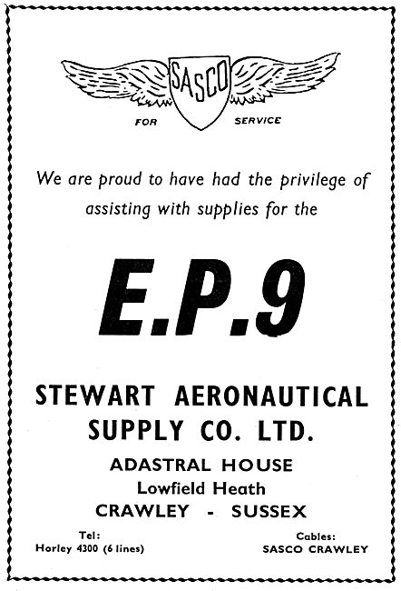 Stewart Aeronautical Supplies SASCO