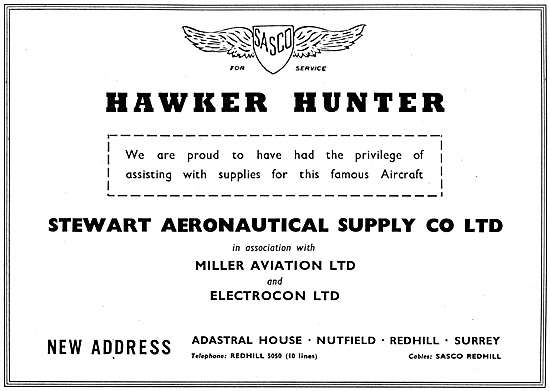 SASCO Stewart Aeronautical Supplies