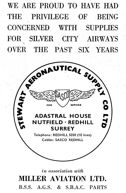 SASCO Stewart Aeronautical Supplies - Miller Aviation