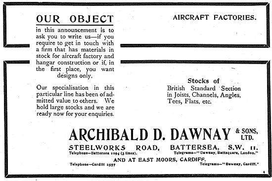 Archibald Dawnay - Stocks Of Steel Joists, Angles, Tess, Flats