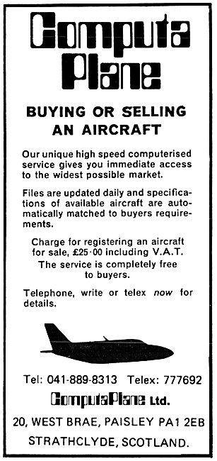 Computa Plane Aircraft Sales