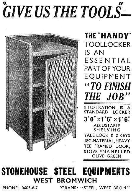 Stonehouse Steel Equipments Industrial Tool Lockers 1942
