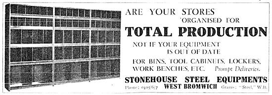 Stonehouse Steel Equipments  Tool Lockers & Parts Bins