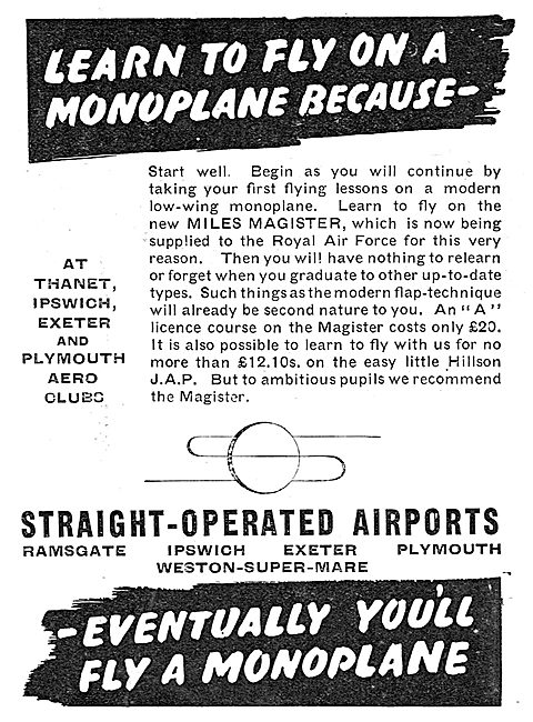 Straight Aviation - Flying Schools