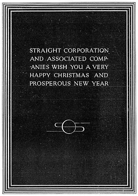 Straight Aviation - Straight Corporation 1938