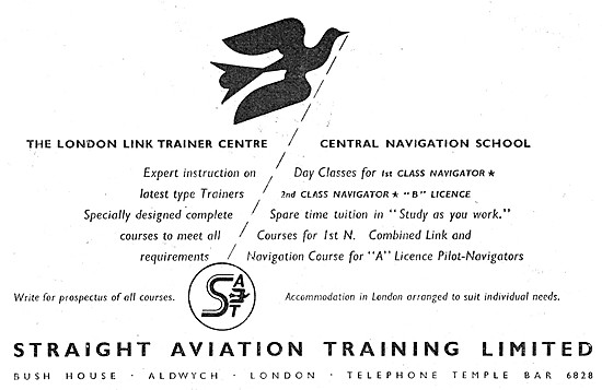Straight Aviation Training - The London Link Trainer Centre
