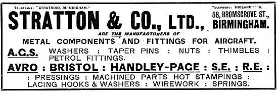 Stratton & Co Ltd - Engineers, AGS Parts & Components