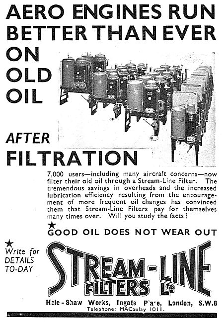 Stream-Line Oil Filters
