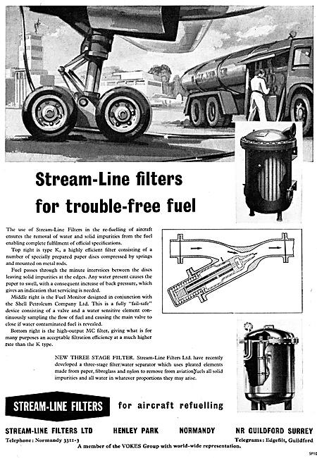 Stream-Line Fuel Filters & Water Separators