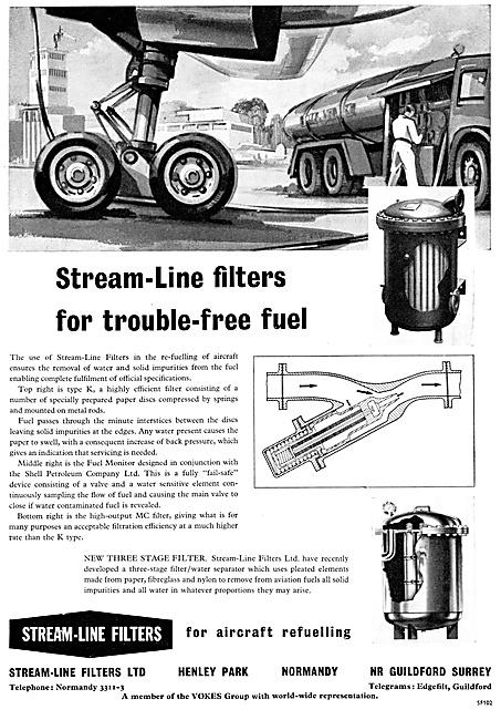 Stream-Line Fuel Filters