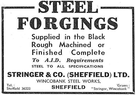 Stringer & Co. Steel Forgings