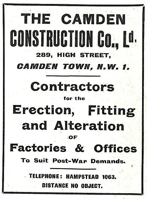 The Camden Construction Co: Hangar Erectors