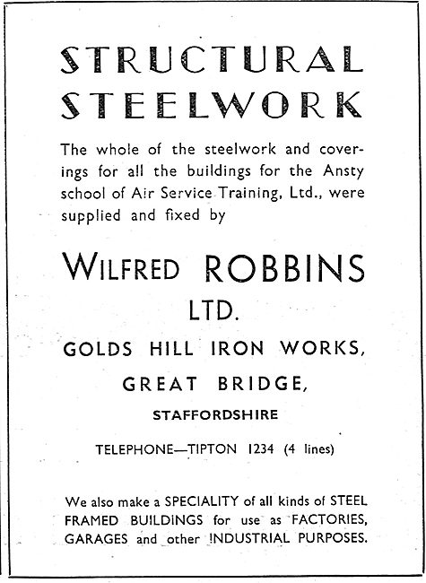 Wilfred Robbins Structural Steelwork