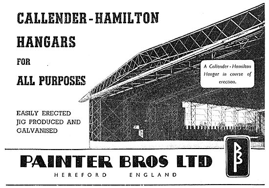 Painter Brothers - Callender-Hamilton Hangars 1949