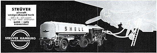 Struver Aircraft Refuelling Equipment - Wedge Shaped Tank