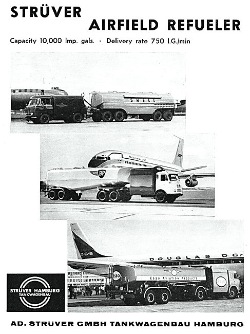 Struver Airfield Refuellers - Struver Refuelling Vehicles