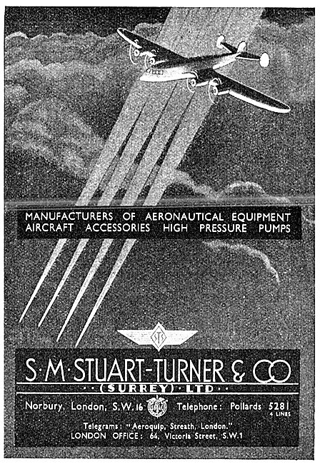 S.M.Stuart-Turner. Aeronautical Equipment & High Pressure Pumps