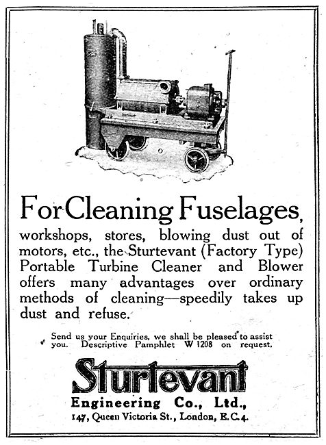 Sturtevant Engineering Company - Power Cleaning Machines