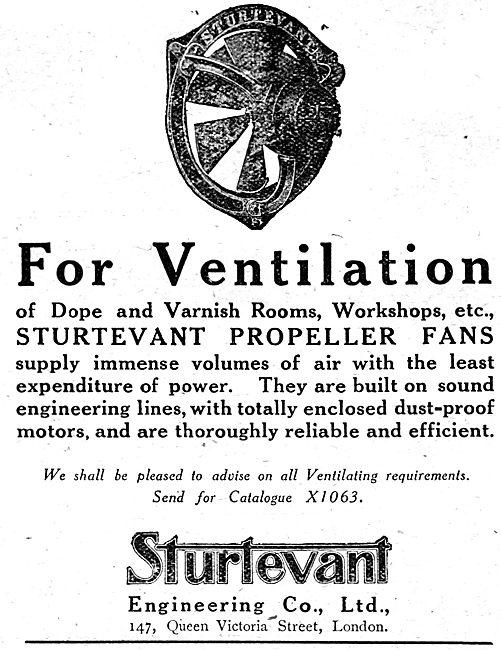 Sturtevant Factory Ventilation Fans