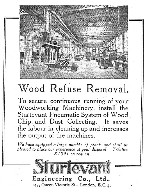 Sturtevant Engineering Wood Refuse Removal Equipment