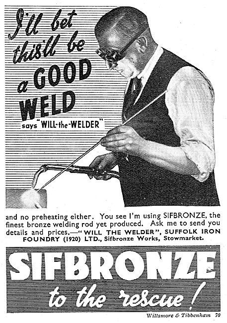 Sifbronze Welding Rods - Will-The-Welder
