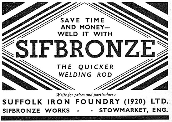Sifbronze Welding Rods
