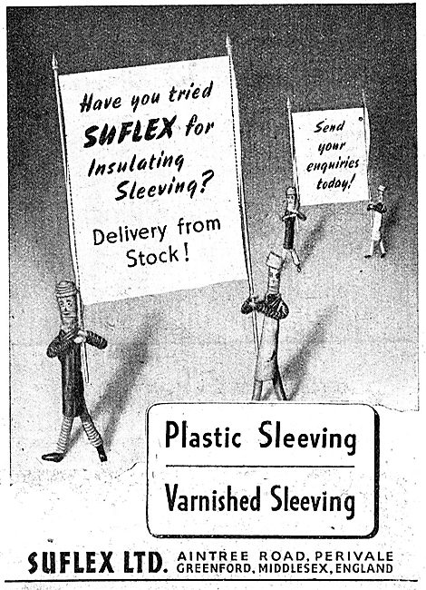 Suflex Electric Cable Insulation Sleevings 1943