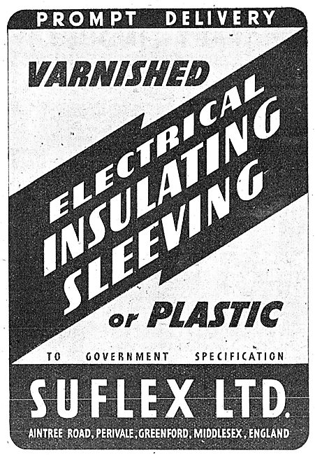 Suflex Electric Cable Plastic Insulation Sleeving 1943