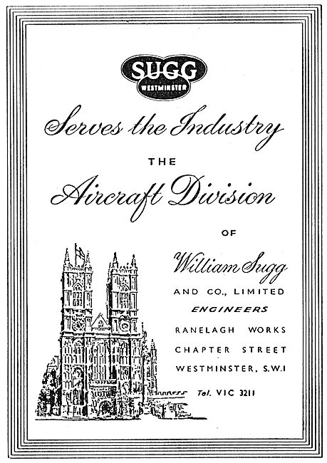 William Sugg & Co. Westminster - Engineers