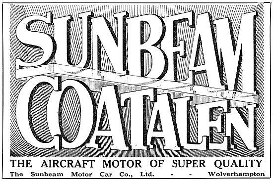 Sunbeam-Coatalen  Aircraft Engines