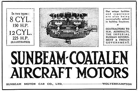 Sunbeam-Coatalen Aero Engines