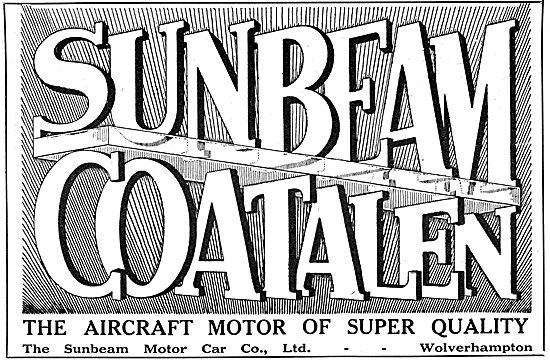 Sunbeam-Coatalen Aero Engines 1917