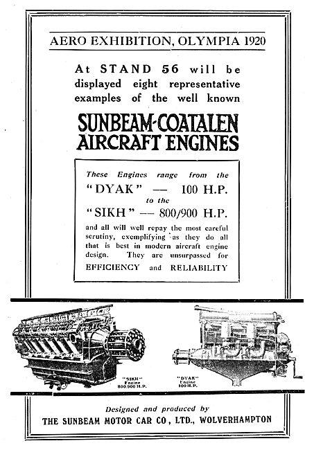Sunbeam-Coatalen Dyak - Sikh