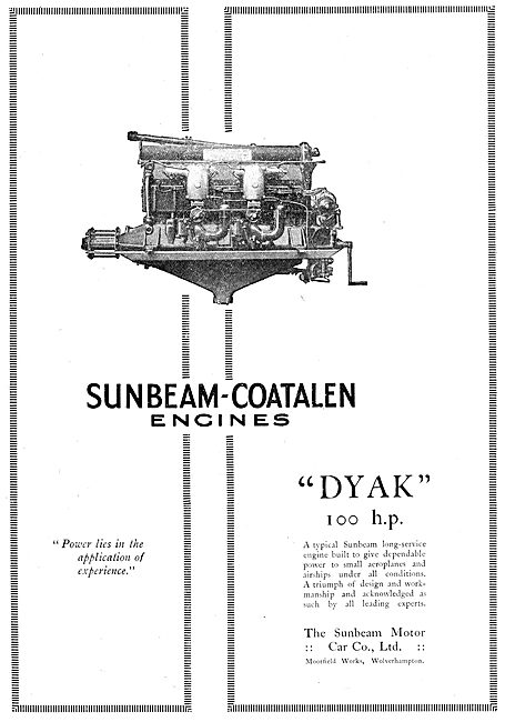 Sunbeam-Coatalen Dyak
