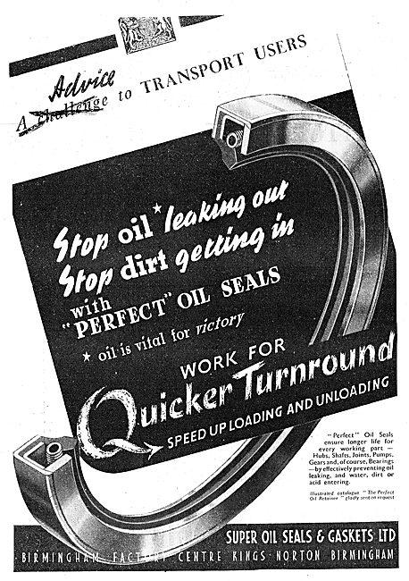 Super Oil Seals. Perfect Oil Seals