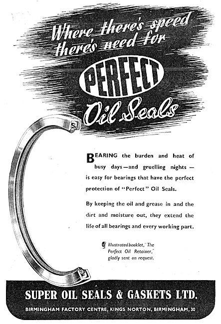 Super Oil Seals. Perfect Oil Seals & Gaskets 1943