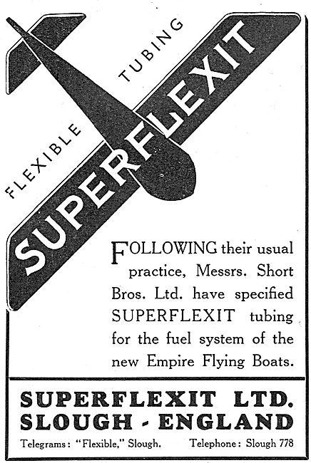 Superflexit Flexible Tubing For Aircraft