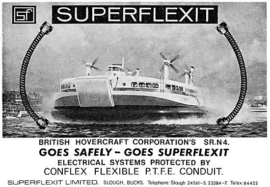 Superflexit Flexible Tubing For Hovercraft