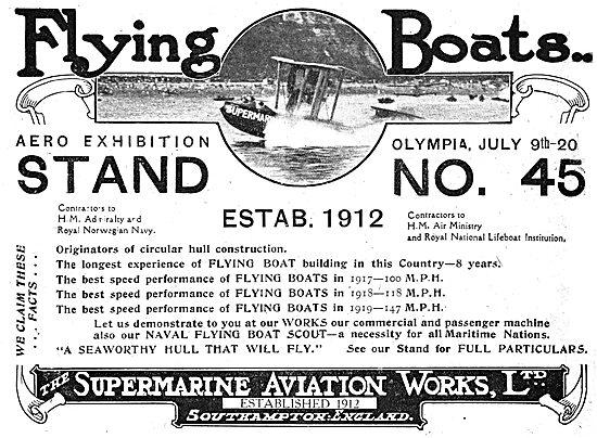 Supermarine Flying Boats