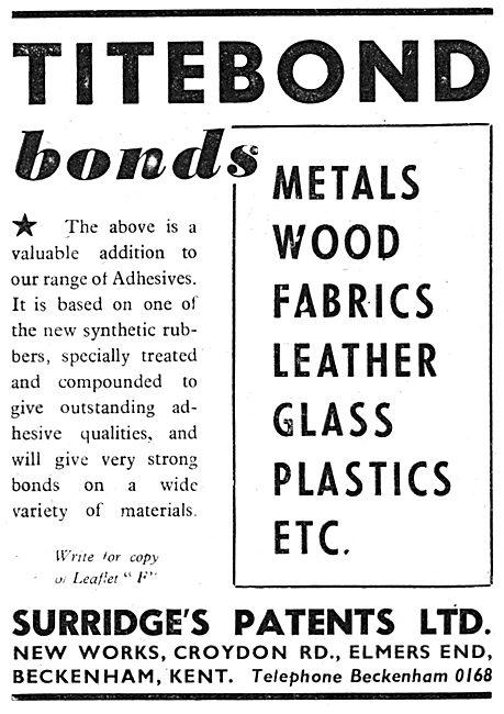Surridges Patents - Titebond Adhesives & Sealants.
